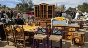 The Unique Outdoor Swap Meet In Southern California That Is Filled With The Zaniest Treasures