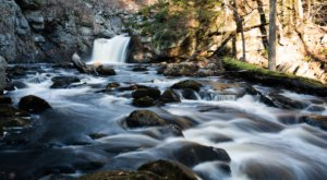 Your Kids Will Love This Easy Half-Mile Waterfall Hike Right Here In Massachusetts