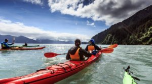 Take A Kayak To This Beautiful Cove For An Unforgettable Alaskan Adventure