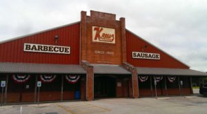 There's A Small Town In Texas Known For Its Truly Epic BBQ