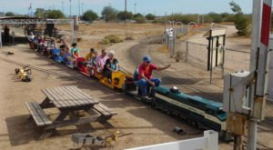 This Magical Arizona Train Park Is An Adventure You Can't Pass Up