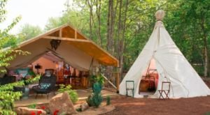 You'll Absolutely Love This Ultra Luxe Campsite On The East Coast