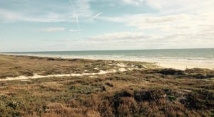 The Natural Beach In Texas That Feels Like Your Own Private Island