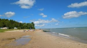 The Beachfront Campground In Michigan That Makes The Perfect Summer Getaway