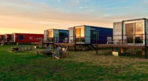 There's A Shipping Container Hotel Hiding In The U.S. And It's So Unexpectedly Charming