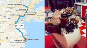 Follow This New Jersey Milkshake Trail For The Ultimate Summer Day Trip