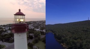 What This Drone Footage Caught In New Jersey Will Leave You Mesmerized