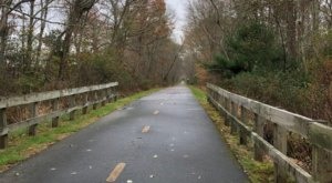 Follow This Abandoned Railroad Trail For One Of The Most Unique Hikes In Rhode Island