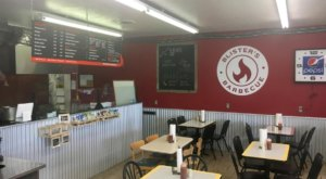One Of Idaho's Top BBQ Restaurants Is Hiding Inside A Gas Station Of All Places