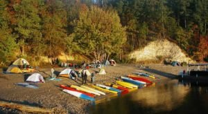 Pick An Island For A One-Of-A-Kind Camping Experience In Arkansas