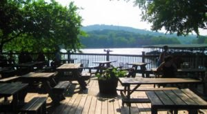 Sip Your Coffee With A Waterfront View At This Charming Little Austin Cafe