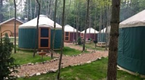 The One-Of-A-Kind Campground In Michigan That You Must Visit Before Summer Ends