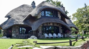 Michigan's Whimsical Mushroom Houses Simply Must Be Seen To Be Believed