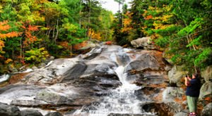 The Ultimate Bucket List For Anyone In Maine Who Loves Waterfall Hikes