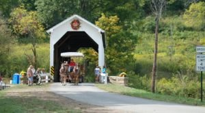 The Covered Bridge Festival Near Pittsburgh That Will Make Your Autumn Awesome