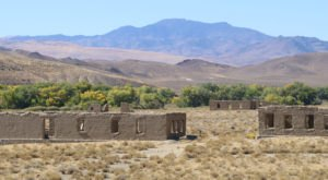You Can Camp Out At The Remains Of An Old Army Fort In Nevada For A Truly Unique Adventure