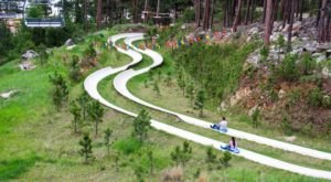 A Ride Down This Enormous Hillside Slide In South Dakota Is Oodles Of Fun