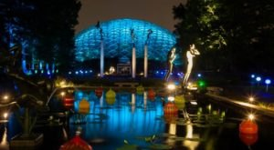The Illuminated Garden Walk In Missouri You Simply Won't Want To Miss