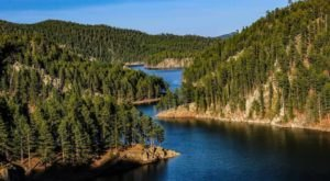 This Hidden Reservoir In South Dakota Has Some Of The Bluest Water In The State