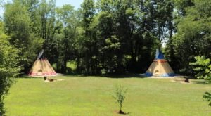 Spend The Night Under A Tepee At This Unique Ohio Campground