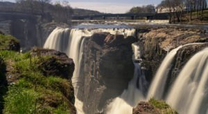 Discover One Of New Jersey's Most Majestic Waterfalls – No Hiking Necessary