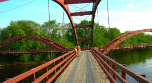 The Remarkable Bridge In Michigan That Everyone Should Visit At Least Once