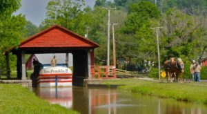 Take A Ride On This One-Of-A-Kind Canal Boat Near Cincinnati