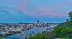 The Breathtaking Overlook In Pittsburgh That Lets You See For Miles And Miles