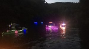 You'll Never Forget This One-Of-A-Kind Moonlit Parade On The Water In Kentucky