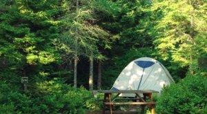 You'll Love These 8 Perfect Camping Spots At Maine's Only National Park