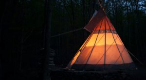 Spend The Night Under A Tepee At This Unique New York Getaway