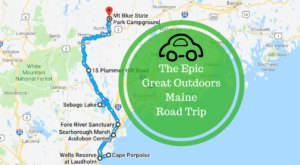 Take This Epic Road Trip To Experience Maine's Great Outdoors