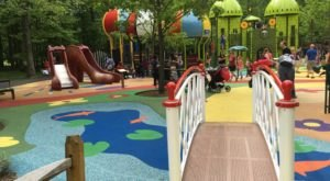 8 Amazing Playgrounds In Maryland That Will Make You Feel Like A Kid Again