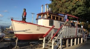 One Of The Best Fish And Chips Is Made Daily Inside Bowpicker Fish & Chips, A Humble Little Oregon Fishing Boat
