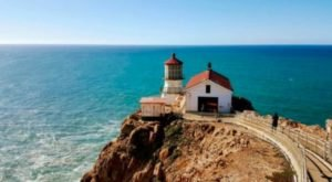 The Views From This West Coast Lighthouse Will Blow You Away