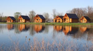 This Log Cabin Campground Near Buffalo May Just Be Your New Favorite Destination