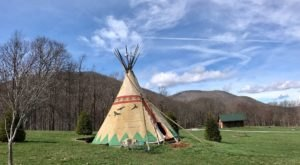 Spend The Night Under A TePee At This Unique North Carolina Campground