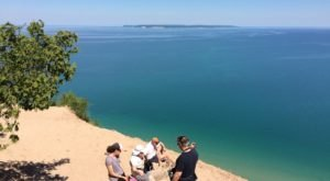 The Breathtaking Overlook In Michigan That Lets You See For Miles And Miles