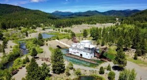 The Historic Dredge Hiding In The Mountains Is A Gem From Oregon's Mining Days