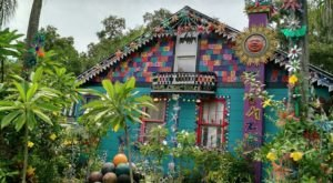 The Most Eclectic House In Florida Will Make You Do A Double Take