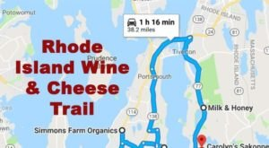 This Wine And Cheese Trail Through Rhode Island Makes For The Most Enchanting Day Trip