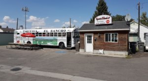 You'll Find Mouthwatering Mexican Food Aboard This Quirky School Bus In Idaho
