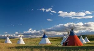 Spend The Night Under A Tipi At This Unique Montana Campground