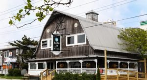 There's A Delicious Restaurant Hiding Inside This Maryland Barn That's Begging For A Visit