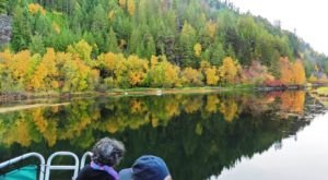 Surround Yourself In Fall Colors Aboard This Magical Lake Cruise In Idaho