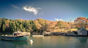 Take In The Beauty Of The Fall Season In Maine With This Awe Inspiring Foliage Boat Cruise