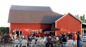 This Beautiful Barn In Michigan Is Also A Winery And You'll Want To Visit