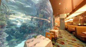The 75,000-Gallon Aquarium At This Deep Ocean-Themed Restaurant In Nevada Is A Sight To See