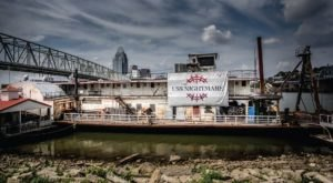 Only The Brave Should Board The World's Most Haunted Boat, Docked Right Here In Cincinnati