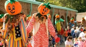 The Quirky Georgia Town That Transforms Into A Pumpkin Wonderland Every Fall